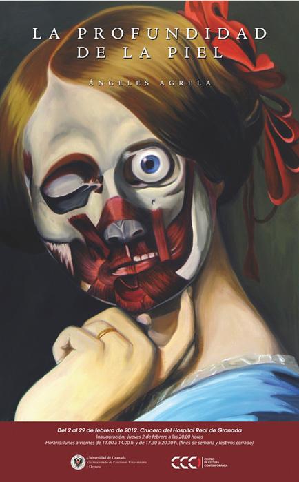 Imagen de portada de La profundidad de la piel de Ángeles Agrela