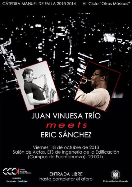 Imagen de portada de JUAN VINUESA TRIO MEETS ERIC SANCHEZ