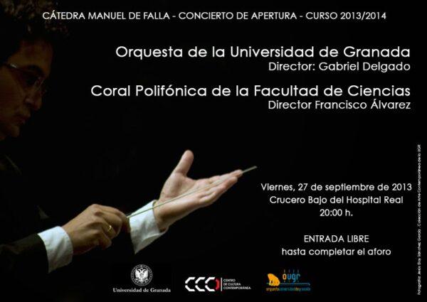 Imagen de portada de CONCIERTO DE APERTURA (2013-2014)