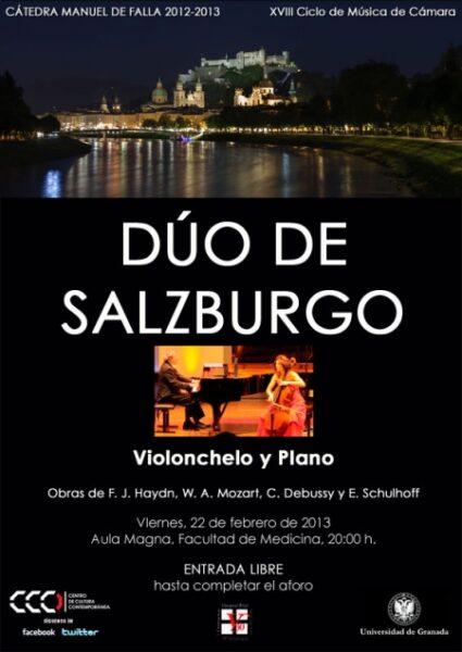Imagen de portada de DÚO DE SALZBURGO