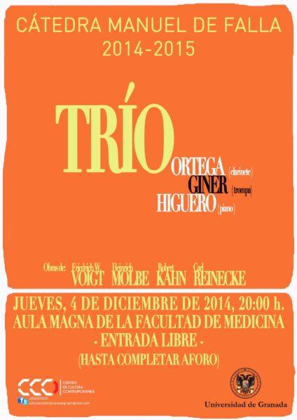 Imagen de portada de TRÍO ORTEGA-HIGUERO-GINER
