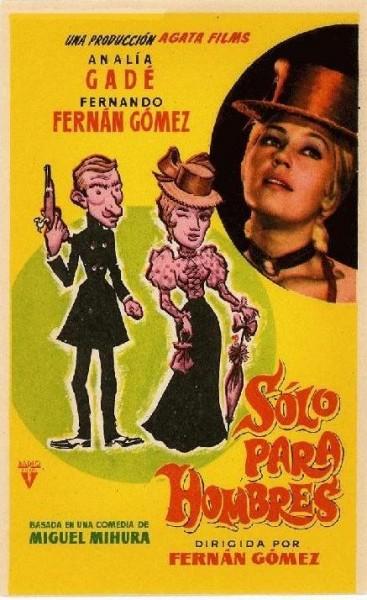 Imagen de portada de SÓLO PARA HOMBRES