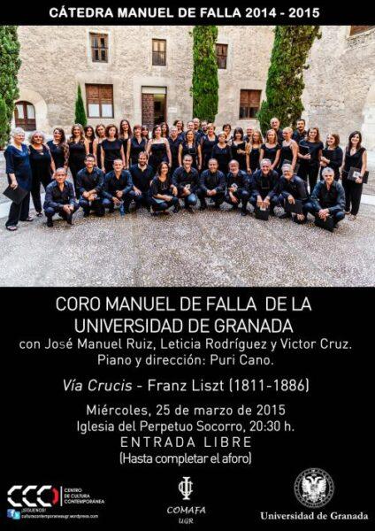 "Imagen de portada de ""VÍA CRUCIS"" DE FRANZ LISZT"