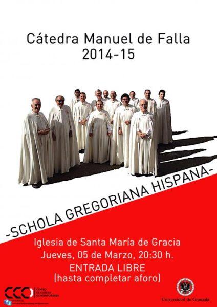 Imagen de portada de SCHOLA GREGORIANA HISPANA