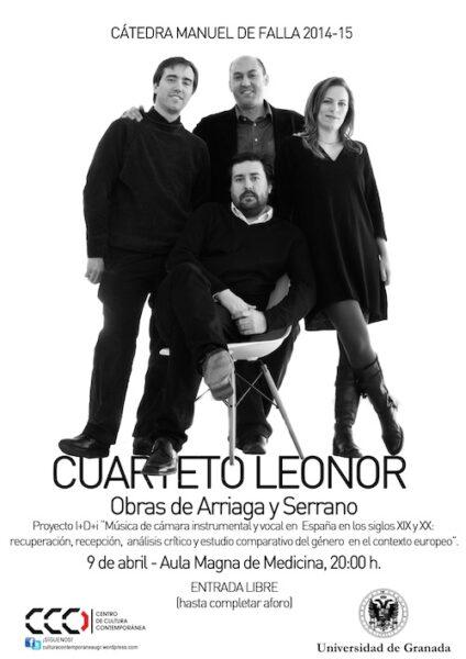 Imagen de portada de CUARTETO LEONOR
