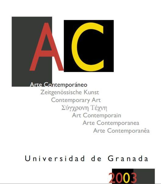 Imagen de portada de Catálogo AC 2003