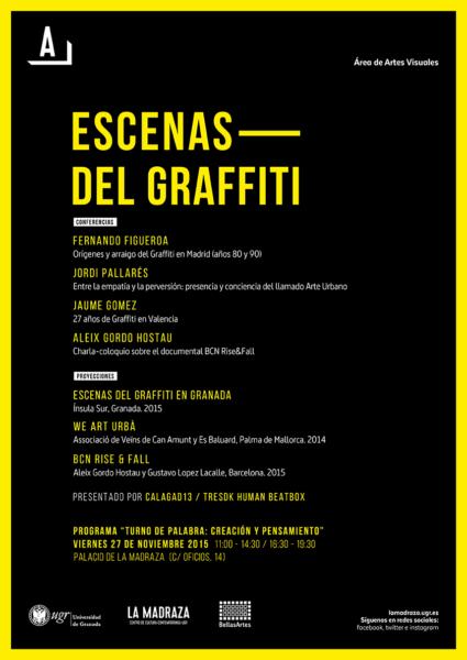 Imagen de portada de Escenas del graffitti