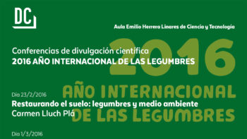 Imagen de portada de 2016, Año Internacional de las Legumbres: Las leguminosas en la historia de la Biología