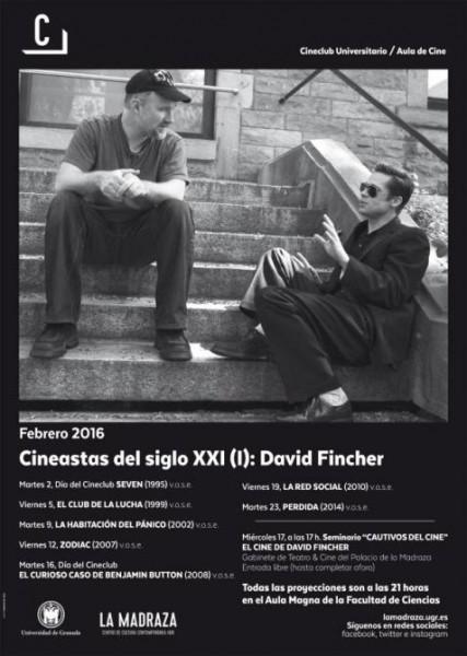 Cartel del ciclo Cineastas del siglo XXI (I): David Fincher