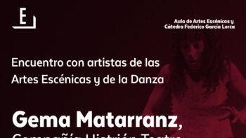 Imagen de portada de encuentro con artistas de las artes escénicas y de la danza