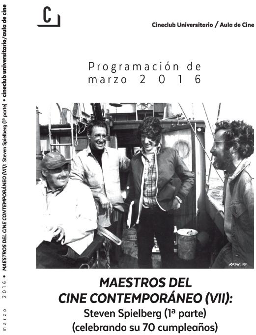 Imagen de portada de Maestros del Cine Contemporáneo (VII): Steven Spielberg (1º parte)