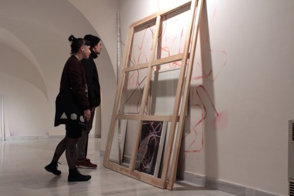 Fotografías de la exposición «Art in Progress», de Chico López