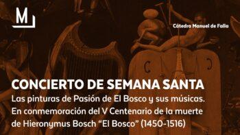 Imagen de portada de CORO MANUEL DE FALLA DE LA UGR Concierto de Semana Santa