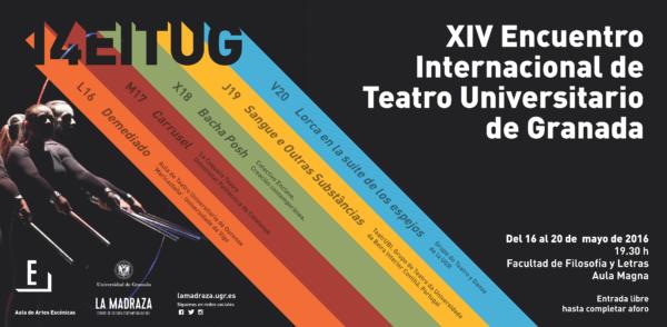 Imagen de portada de 14º Encuentro Internacional de Teatro Universitario de Granada