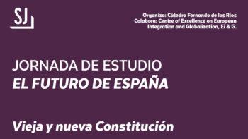 Imagen de portada de Jornada de estudio «El futuro de España»