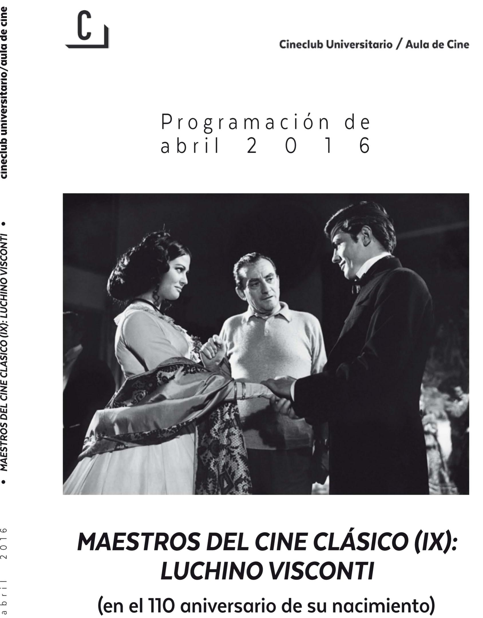 Imagen de portada de Maestros del Cine Clásico (IX): Luchino Visconti