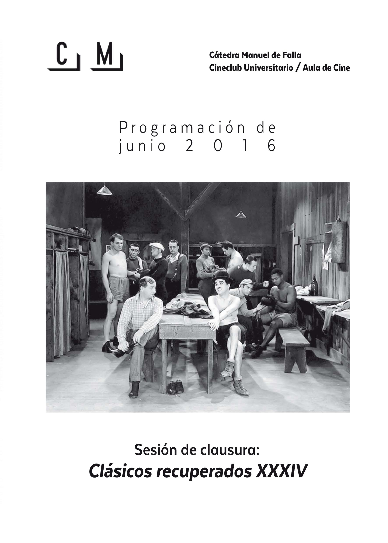 Imagen de portada de Sesión de clausura – Clásicos recuperados XXXIV: Luces de la ciudad (1931)