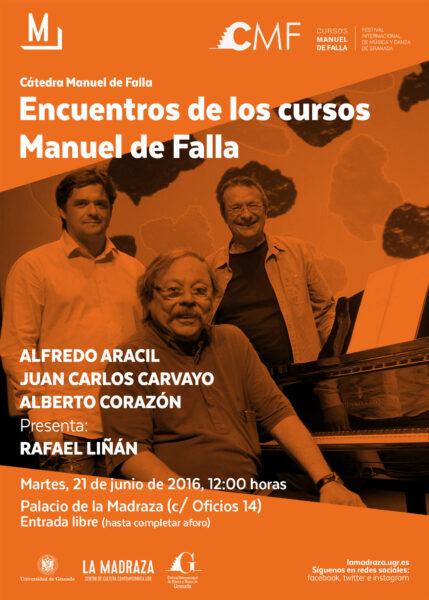 Imagen de portada de ENCUENTROS CURSOS MANUEL DE FALLA