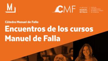 Imagen de portada de AMANCIO PRADA Encuentros de los Cursos Manuel de Falla