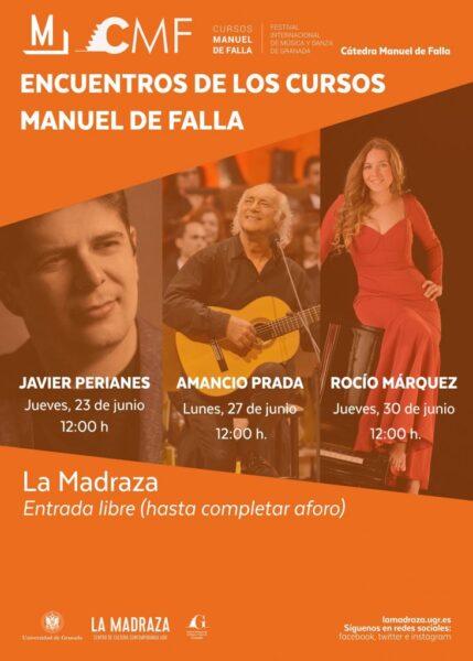 Imagen de portada de ENCUENTROS CURSOS MANUEL DE FALLA (II): AMANCIO PRADA