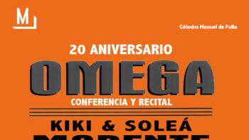 Imagen de portada de Encuentro y recital: Omega (20 aniversario)