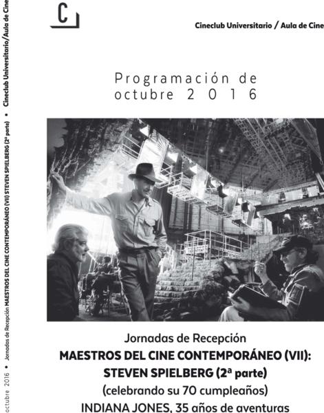 Imagen de portada de Maestros del cine contemporáneo (VII): Steven Spielberg (2ª parte)