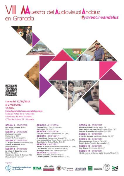 Imagen de portada de VIII Muestra del Audiovisual Andaluz en Granada