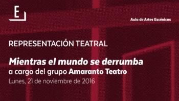 Imagen de portada de GRUPO TESIS TEATRO Representación teatral: XPC-Himen