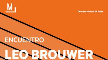 Imagen de portada de Encuentro con Leo Brouwer