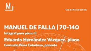 Imagen de portada de EDUARDO HERNáNDEZ Y CONSUELO PéREZ Integral para piano II