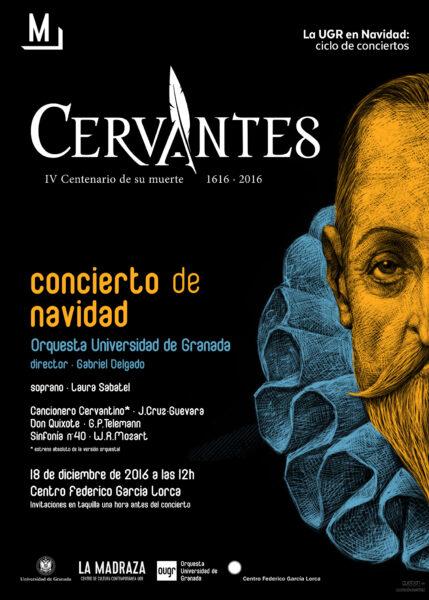 Imagen de portada de CONCIERTO DE NAVIDAD: CERVANTES, IV CENTENARIO DE SU MUERTE (1616-2016)