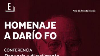 Imagen de portada de JOSé ABAD Conferencia «Denuncia y divertimento en el teatro de Darío Fo»