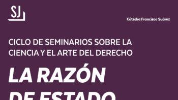 Imagen de portada de MANUEL RIVERO GONZáLEZ Y MIGUEL AZPITARTE SáNCHEZ Conferencia «La Razón de Estado»