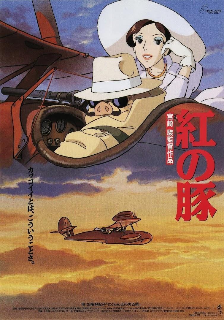 Imagen de portada de PORCO ROSSO (1992)