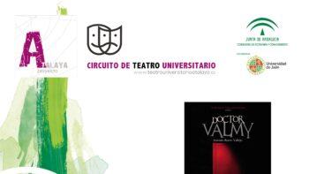 Imagen de portada de GRUPO DE TEATRO IN VITRO DE LA UNIVERSIDAD DE JAéN Representación teatral «La doble historia del doctor Valmy»