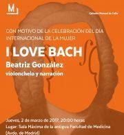 Imagen de portada de BEATRIZ GONZáLEZ Concierto «I love Bach»