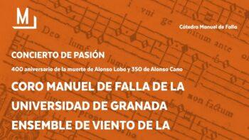 Imagen de portada de CORO MANUEL DE FALLA DE LA UGR Coro Manuel de Falla de la UGR ensemble de la OUGR