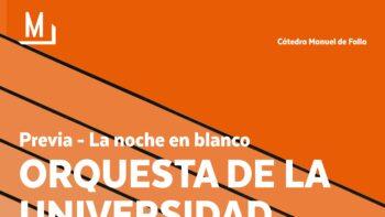 Imagen de portada de ORQUESTA DE LA UGR Concierto