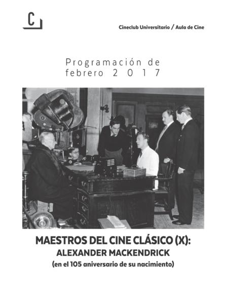 Imagen de portada de Maestros del cine clásico (X): Alexander Mackendrick