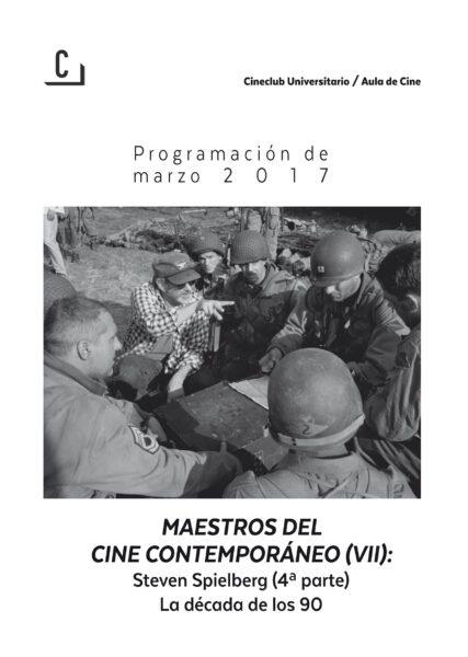 Imagen de portada de Maestros del cine contemporáneo (VII): Steven Spielberg (4ª parte). La dácada de los 90