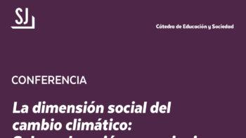 Imagen de portada de PABLO ÁNGEL MEIRA CARTEA Conferencia «La dimensión social del cambio climático: sobre educación, negacionismo e incertidumbre»