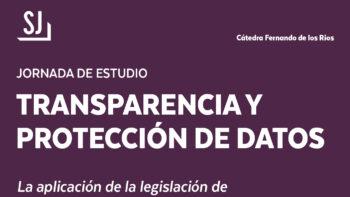 Imagen de portada de Jornada de estudio: Transparencia y Protección de Datos