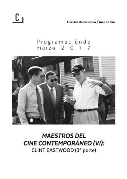 Imagen de portada de Maestros del cine contemporáneo (VI): Clint Eastwood (3ª parte)
