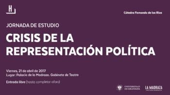 Imagen de portada de Jornada de estudio: «Crisis de la representación política»