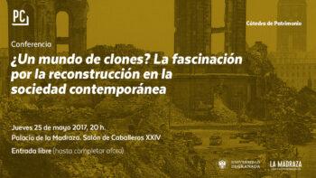 Imagen de portada de ASCENSIóN HERNáNDEZ MARTíNEZ Conferencia «¿Un mundo de clones? La fascinación por la reconstrucción en la sociedad contemporánea»