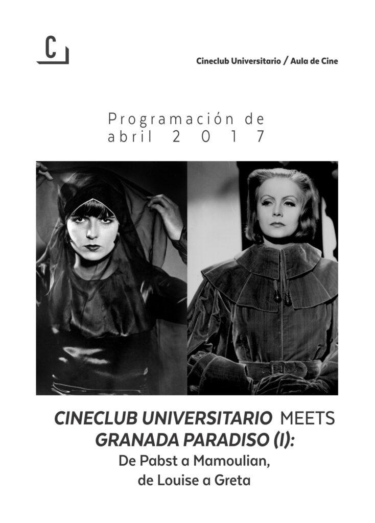 Imagen de portada de Cineclub Universitario meets Granada Paradiso (I)