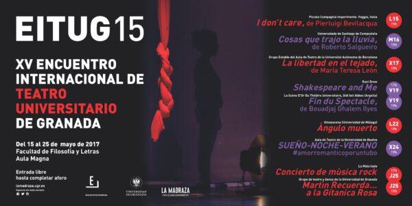 Imagen de portada de XV Encuentro Internacional de Teatro Universitario de Granada