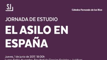Imagen de portada de Jornada de estudio: «El asilo en España»