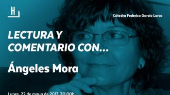 Imagen de portada de ÁNGELES MORA FRAGOSO Lectura y comentario con… Ángeles Mora