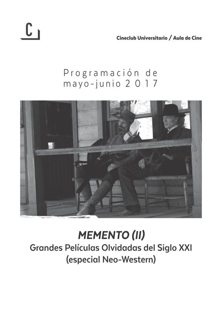 Imagen de portada de Memento (II): Grandes películas olvidadas del siglo XXI (especial Neo-Western)